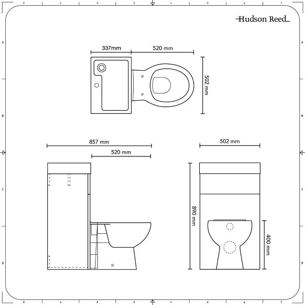 Ovale Toilette Mit Spulkasten Und Integriertem Waschbecken