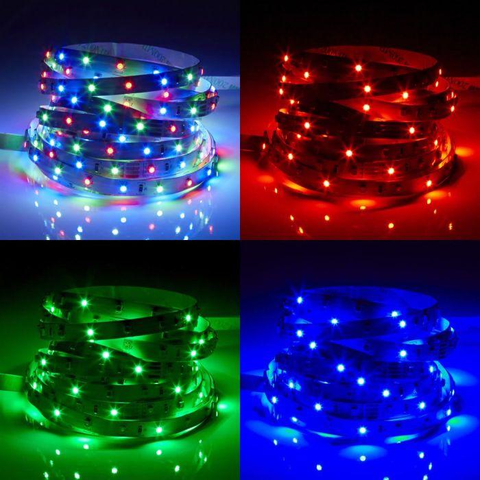 Biard 5m 3528 300 LED Strip, farbwechselnd, zur Innenraumnutzung