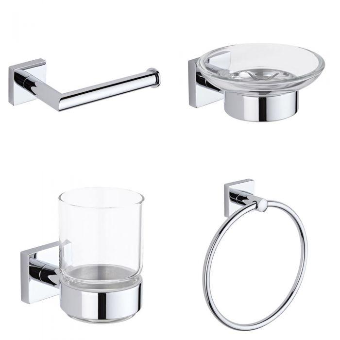 Badezimmer 4-teiliges Zubehör Set - Liso