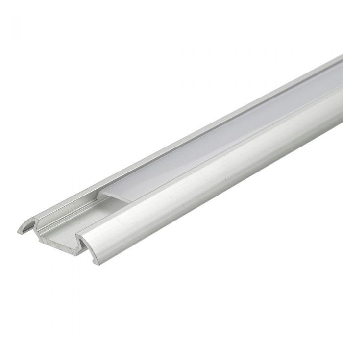 Biard 5x Befestigungs-Schiene Flach100cm für LED-Strips
