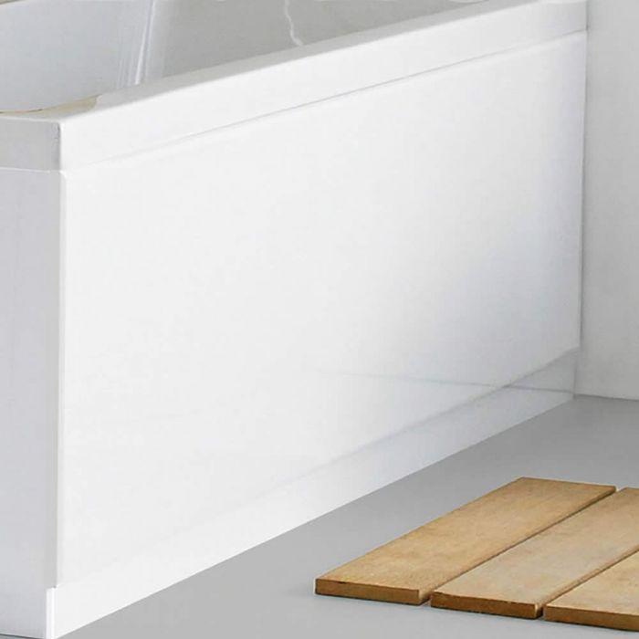 Badewannenverkleidung Weiß 1700 mm