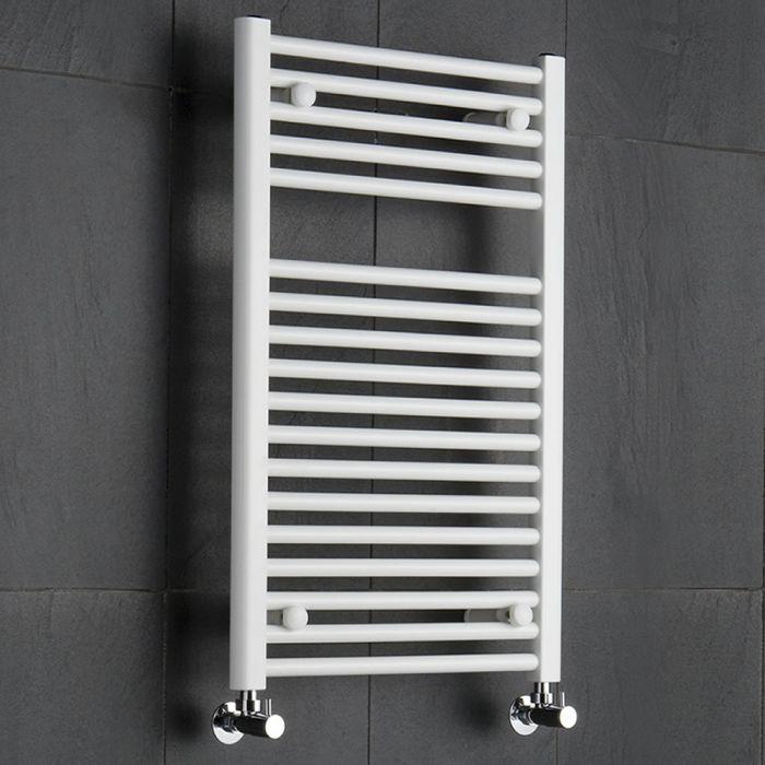 Handtuchheizkörper Weiß 800mm x 500mm 474W - Etna
