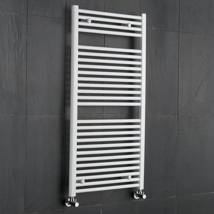Handtuchheizkörper Weiß 1200mm x 600mm 815W - Etna