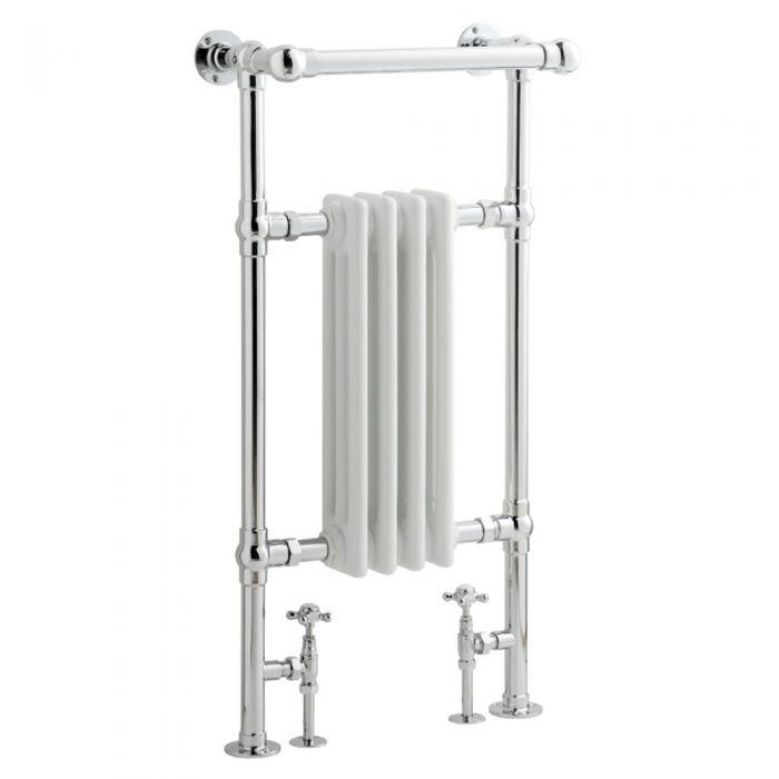 Handtuchheizkörper Weiß 930mm x 452mm 454W - Thera