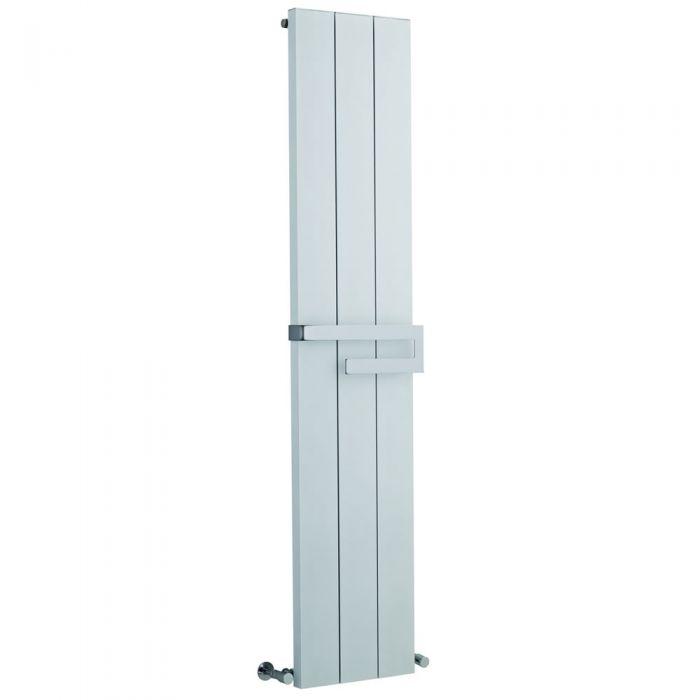Design Heizkörper Vertikal Einlagig Weiß 1800mm x 370mm 1265W - Ceylon