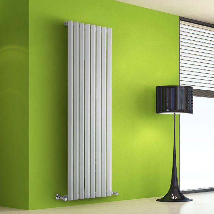 Design Heizkörper Vertikal Einlagig Weiß 1600mm x 560mm 1261W - Vital
