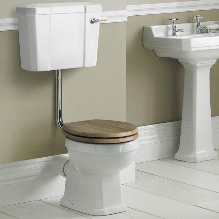 Toilette Klassisch Richmond - wählbarer WC-Sitz