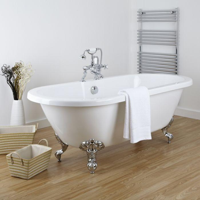 Freistehende Badewanne Firenze mit auswählbaren Füßen