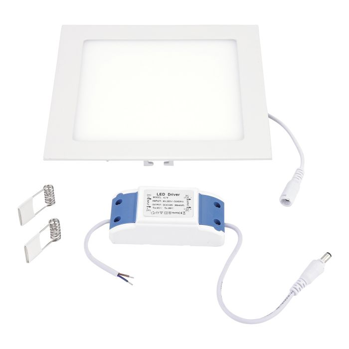 Biard 15W LED Paneelleuchte Quadratisch 200mm x 200mm