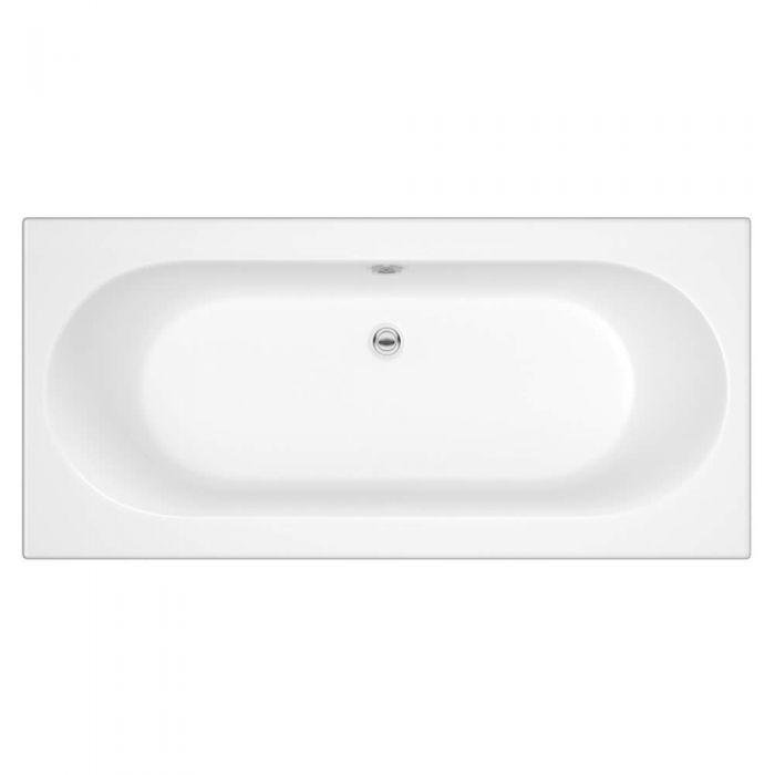Standard Badewanne 1800mm x 800mm Oval - ohne Paneel
