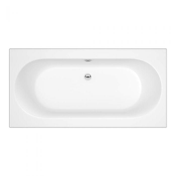Standard Badewanne 1700mm x 750mm Oval - ohne Paneel