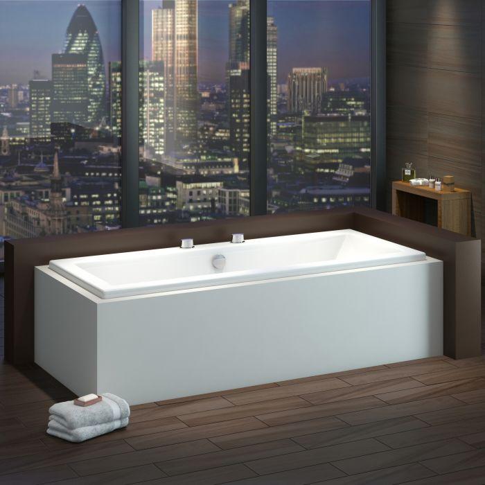 Standard Badewanne 1800mm x 800mm Rechteckig - ohne Paneel