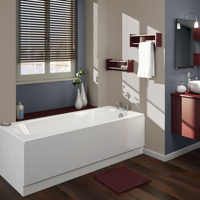 Einbau-Badewanne 1800mm x 800mm