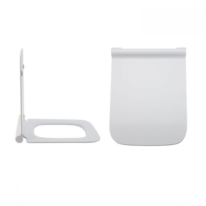 Toilettensitz Duroplast Fast Fix & Absenkautomatik, Befestigung von oben - Sandford
