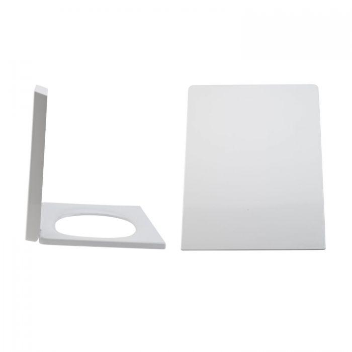Toilettensitz Duroplast Fast Fix & Absenkautomatik, Befestigung von oben - Halwell