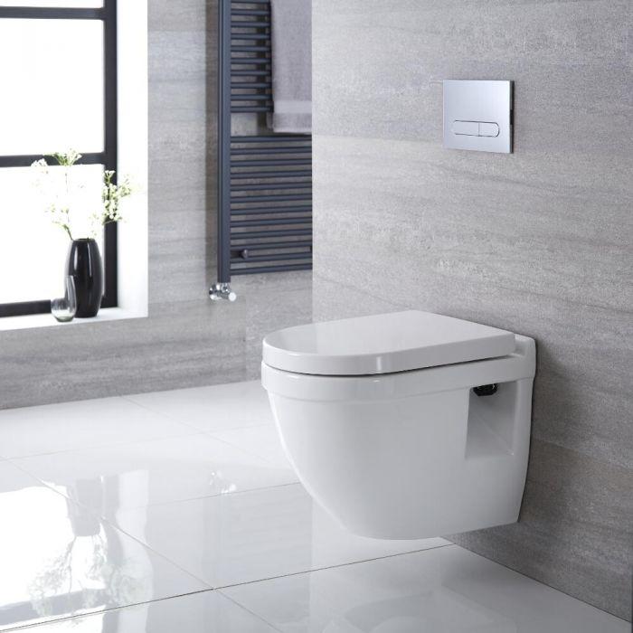 Hänge WC Oval Sitz mit Absenkautomatik - Belstone