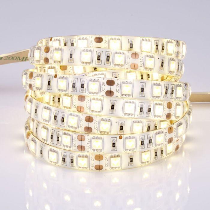 Biard 5m 5050 300 LED Strip, warmes Weiß, wasserdicht IP65