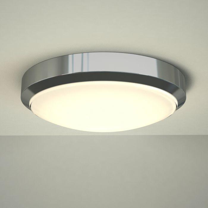Tahoe Ø280mm LED Deckenleuchte für Badezimmer Chrom
