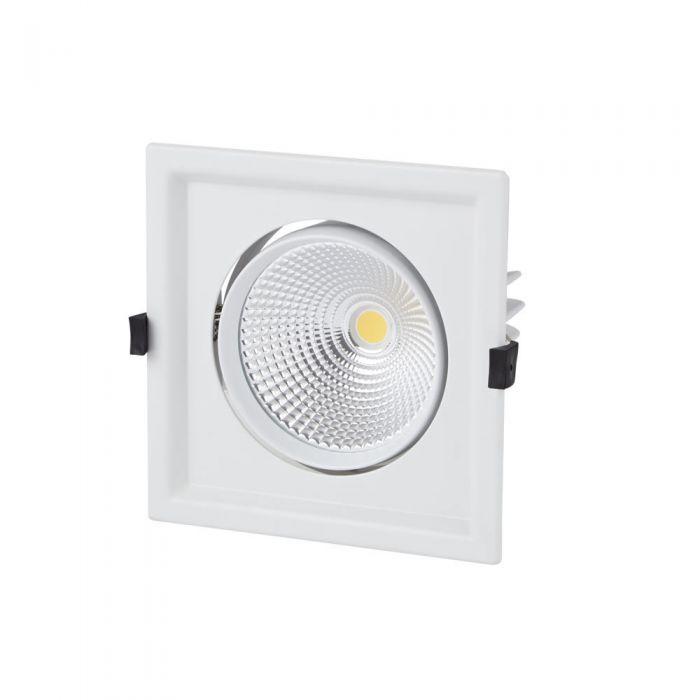 Biard 30W Einfache Versenkte LED Deckenleuchte - Multi-Direktional