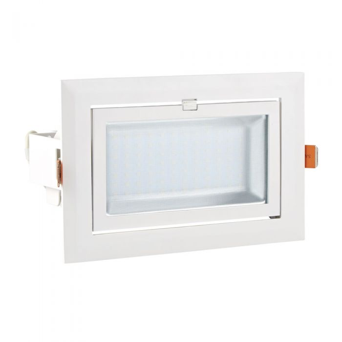 Biard 40W Versenkte LED Wand- oder Deckenleuchte mit Kippfunktion