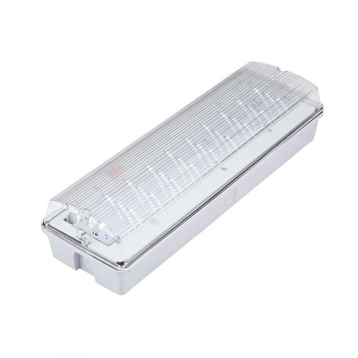 Biard 4W LED Leistenleuchte / Notfallleuchte für Dauerschaltung oder Bereitschaltung