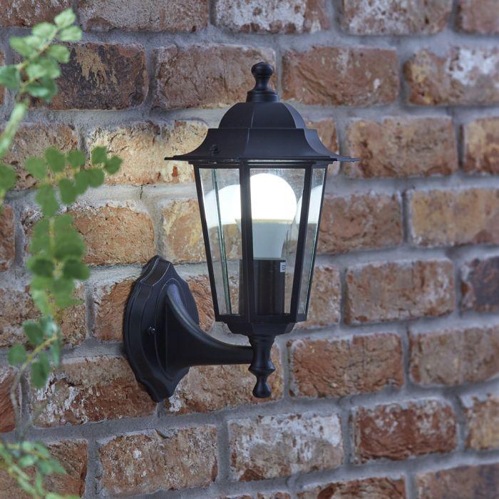Biard Außenleuchte Laterne aus Stahl - Toulon - Schwarz