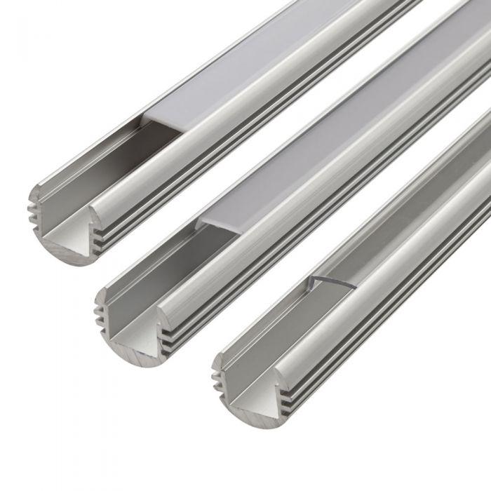 Biard Befestigungs-Schiene Rund 100cm für LED Strip