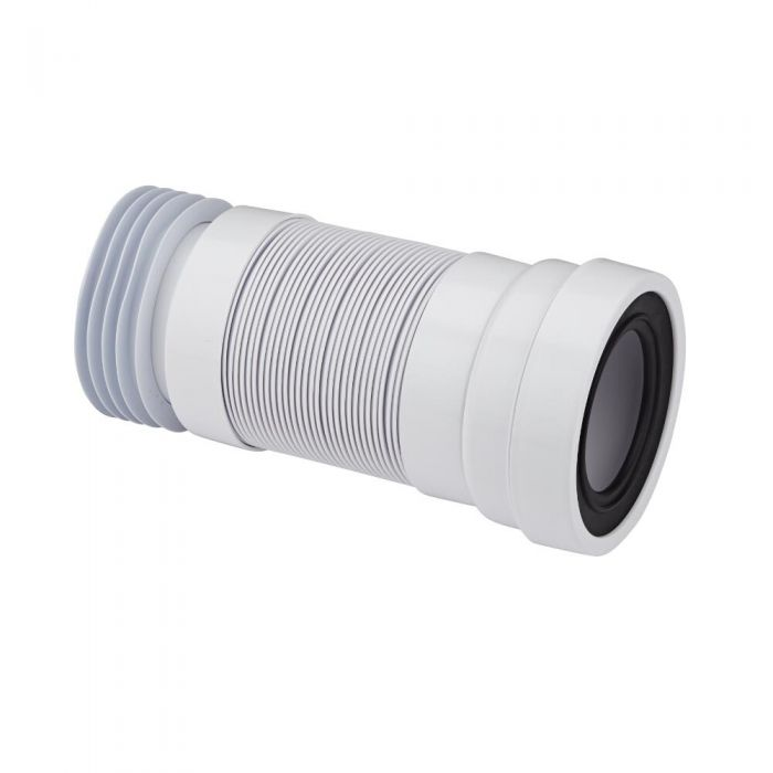 Gerades Flexibles 90° WC Anschlussbogen Abflussrohr - McAlpine