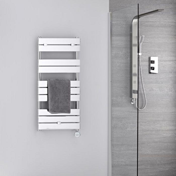 Elektrischer Handtuchheizkörper 1000mm x 450mm Chrom - Lustro