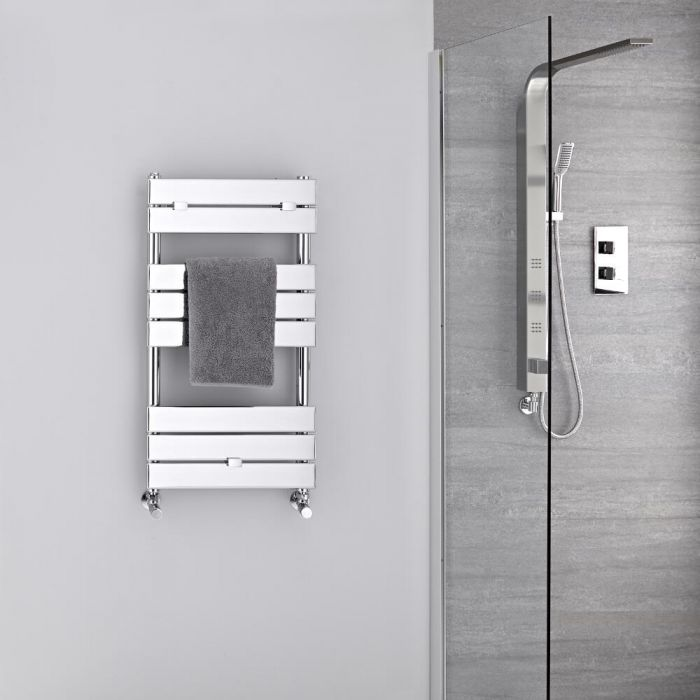Handtuchheizkörper Chrom 840mm x 450mm 250W - Lustro