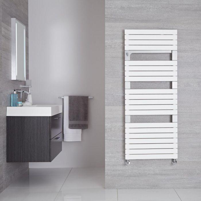 Handtuchheizkörper Mineral Weiß 896W 1360mm x 550mm - Seina