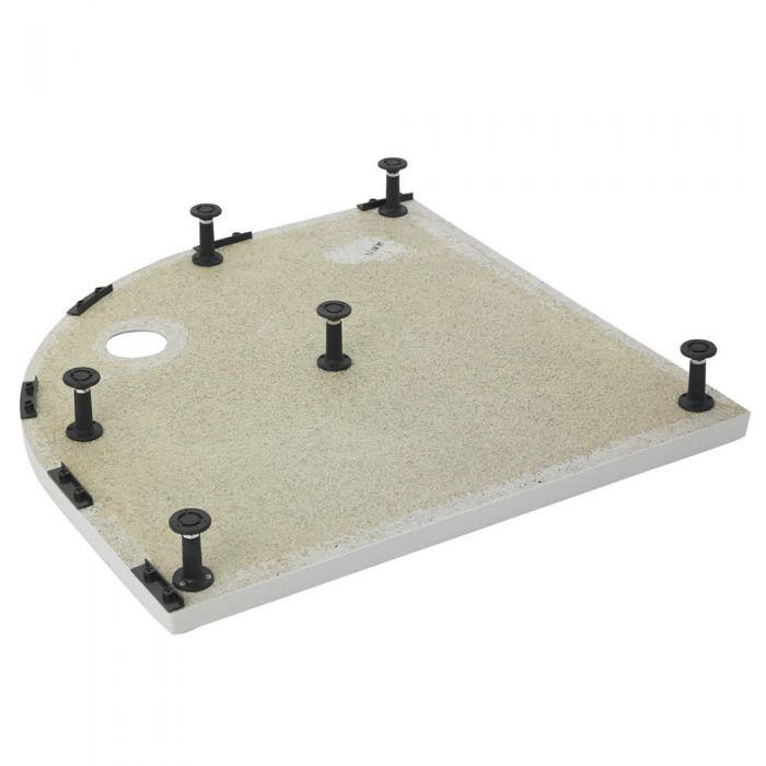 Unterbau für Duschtassen Eckduschen bis zu 1200mm x 900mm