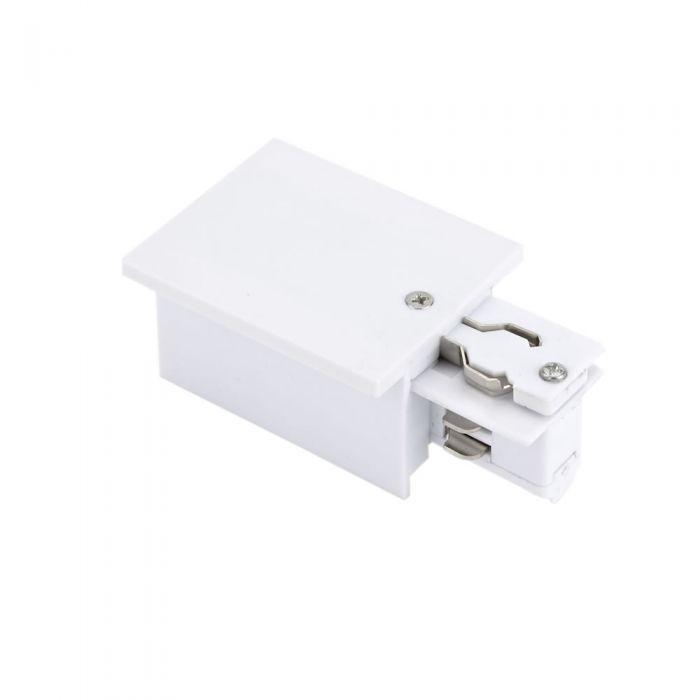 Versenkter Dreiphasen-Stromanschluss Weiß