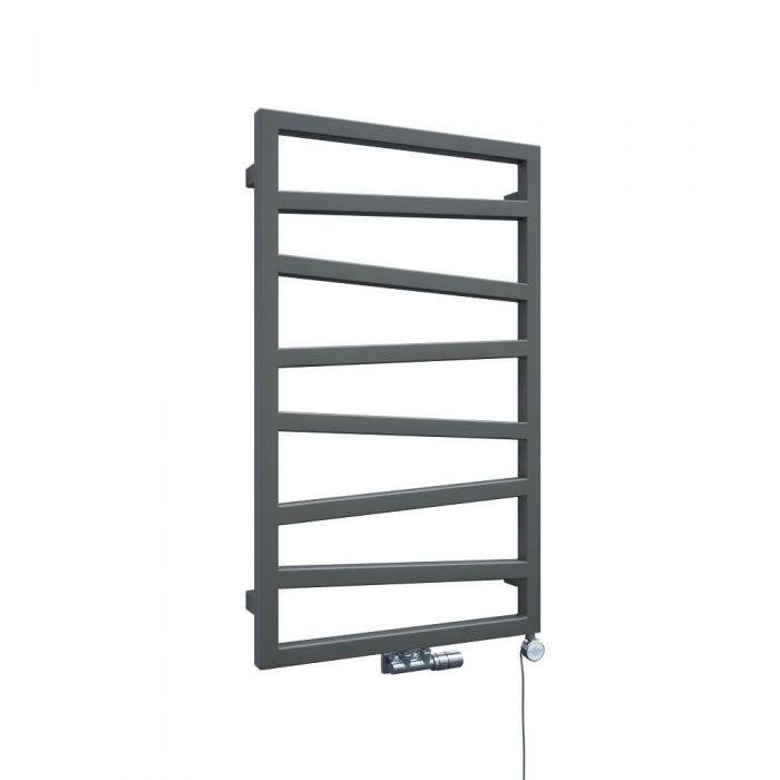 Handtuchheizkörper Vertikal Silber 835mm x 500mm - Torun