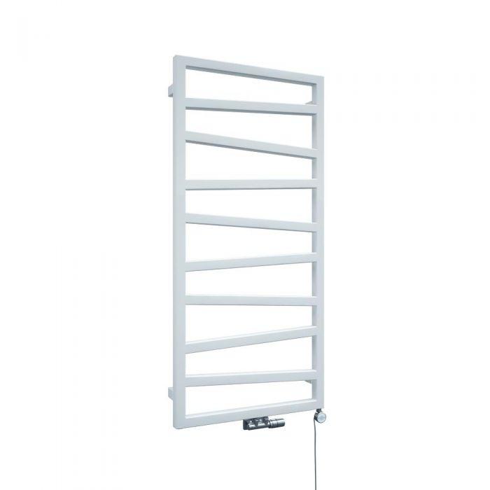 Handtuchheizkörper Vertikal Weiß 1070mm x 500mm - Torun