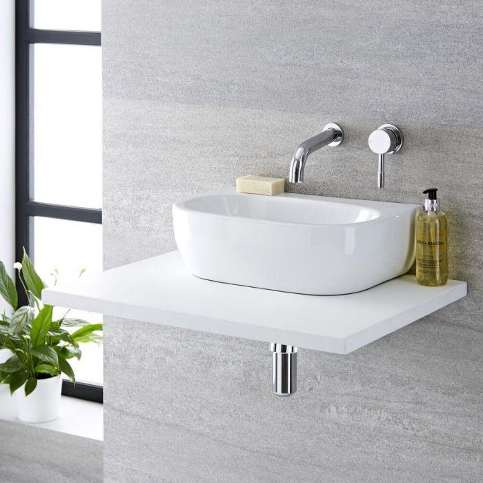 Aufsatzwaschbecken Oval 420mm x 280mm - Langtree