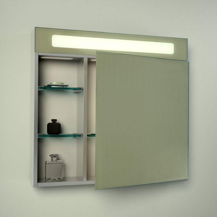 Onega LED beleuchteter Badezimmerspiegelschrank