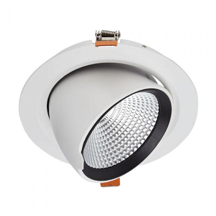 Biard 35W Versenkter LED Einbauspot - Direktional - mit weißer Fassung