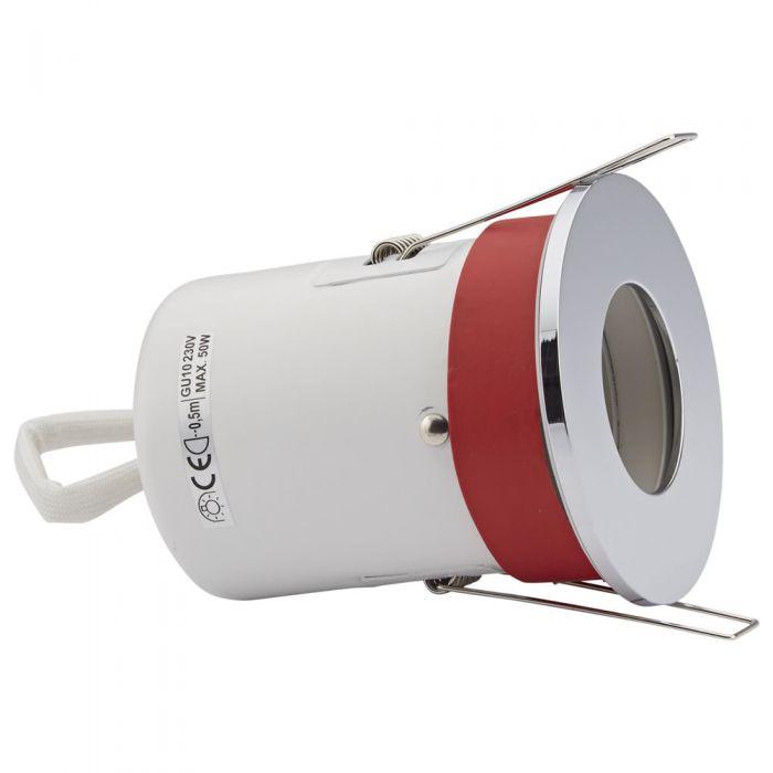Biard Einbauspot mit verschiedenen Blenden, Brandschutzklassifiziert und IP20 getestet für GU10 Birnen - Rund Ø72mm