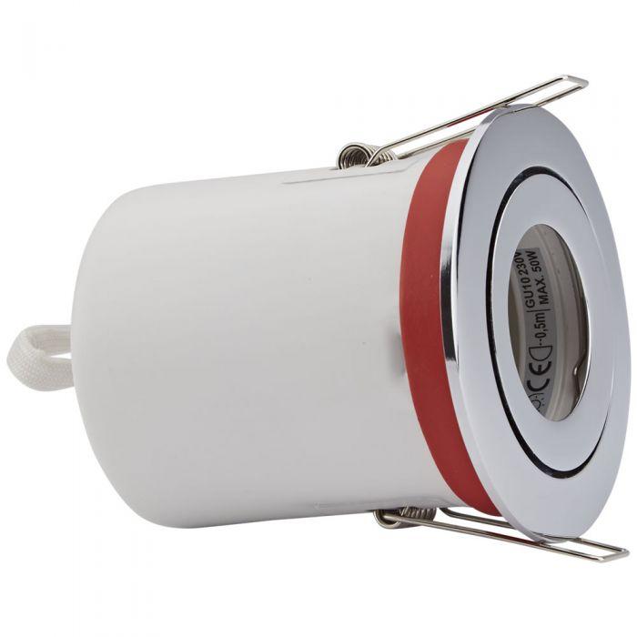 Biard Einbauspot mit verschiedenen Blenden, Brandschutzklassifiziert und IP20 getestet für GU10 Birnen - Rund Kippbar Ø72mm