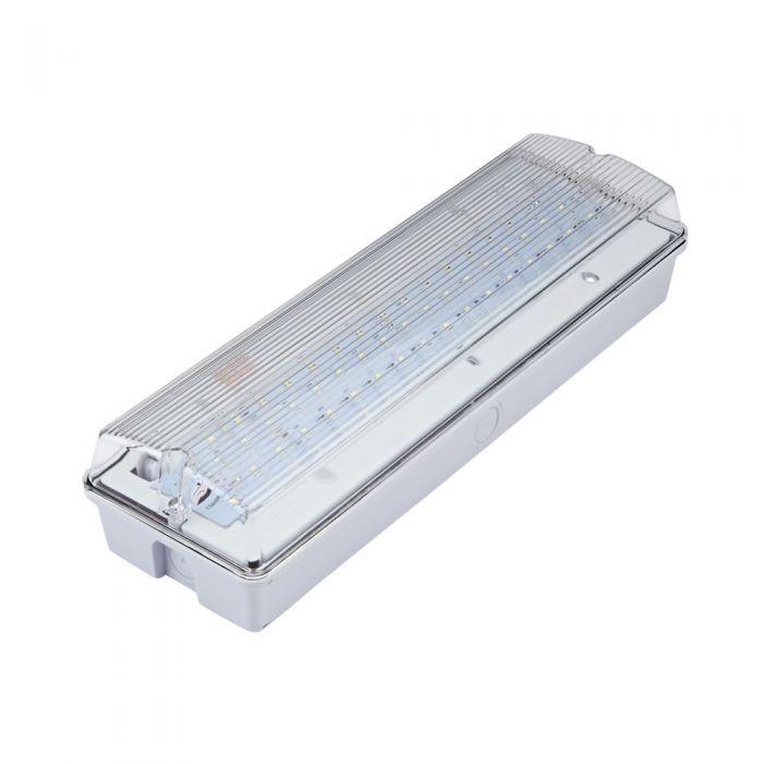 Biard LED Leistenlampe / Notfallleuchte für Dauerschaltung oder Betriebsschaltung