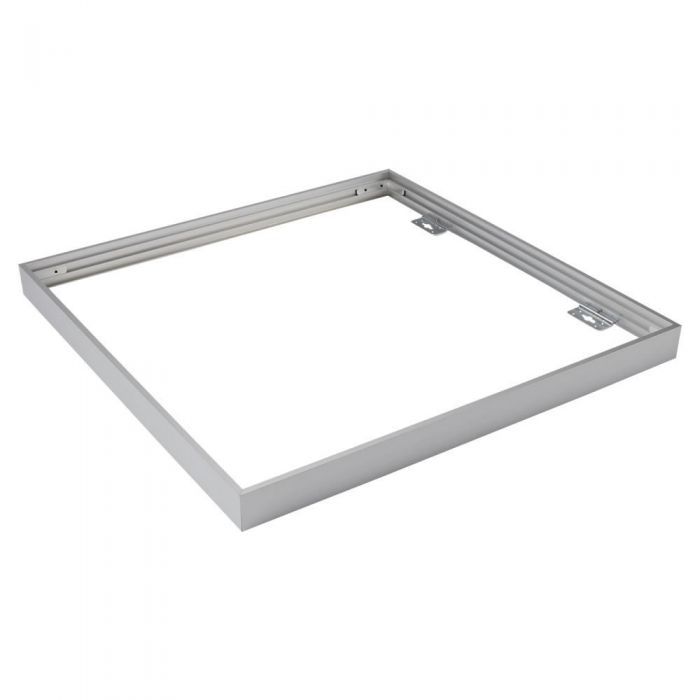 Biard Rahmen zur Oberflächenmontage, 60x60cm LED Paneellleuchte, Silber