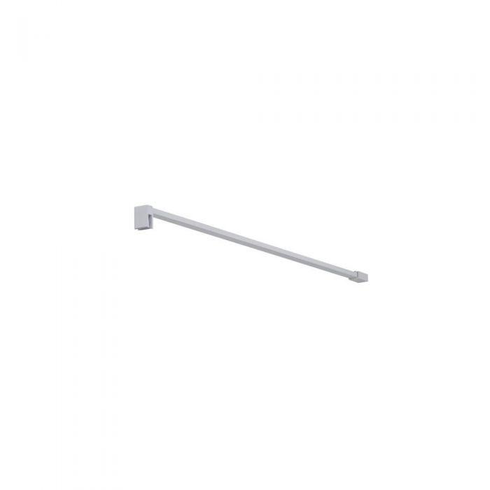 Hudson Reed Lux - Fixierter Duscharm, quadratisch - Weiß