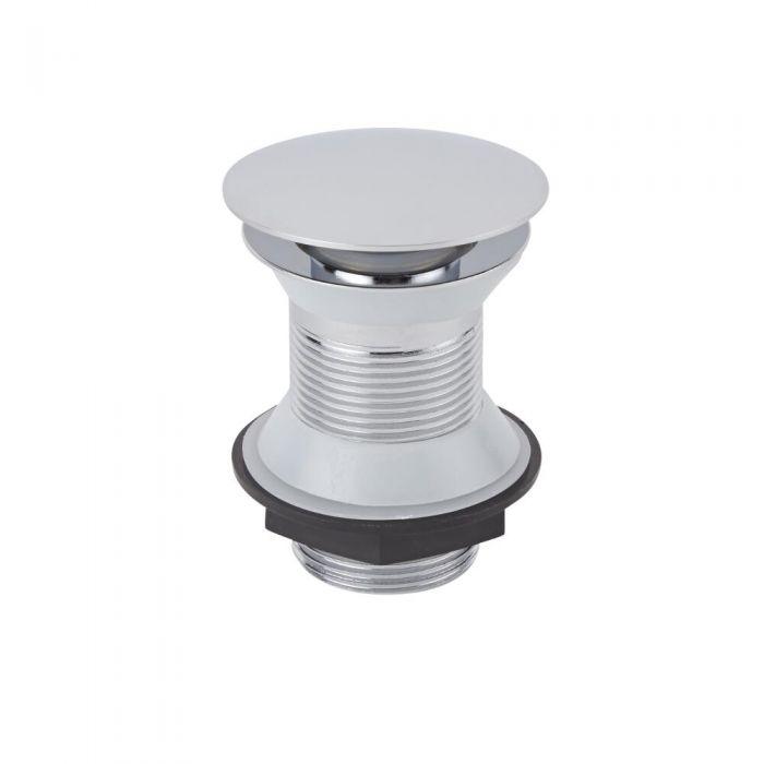 Ablauf mit Push-Up-Stöpsel für Waschbecken, ohne Überlauf