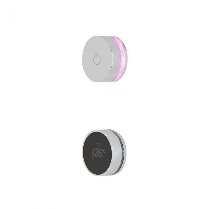 Digitale Duscharmatur für zwei Funktionen - Narus