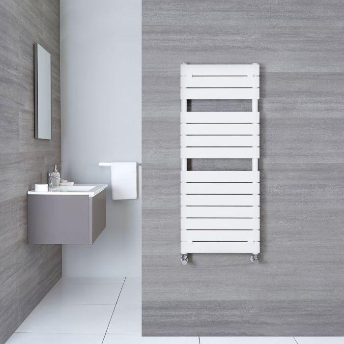 Handtuchheizkörper Weiß 1213mm x 500mm 489W - Elgin