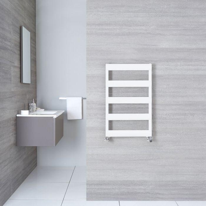 Handtuchheizkörper Weiß 790mm x 500mm 379W - Gradus