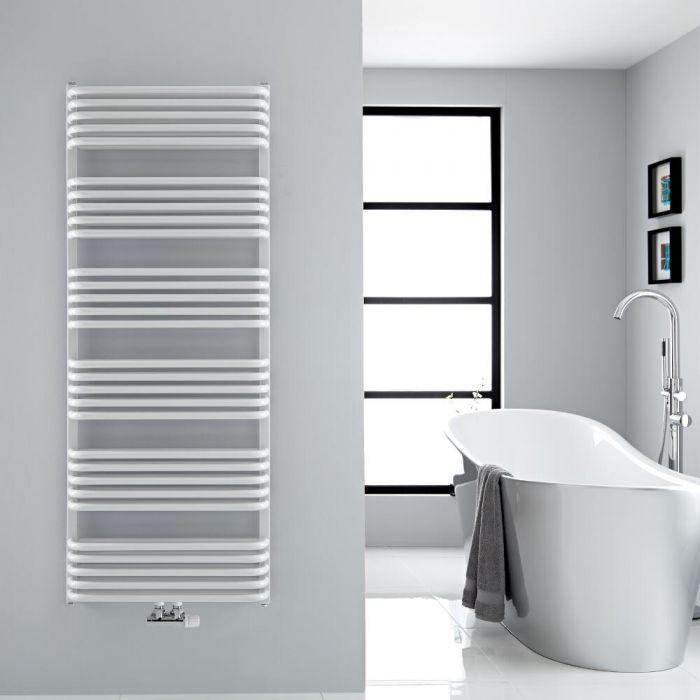 Handtuchheizkörper Vertikal Mittelanschluss Weiß 1533mm x 600mm 1818W - Arch