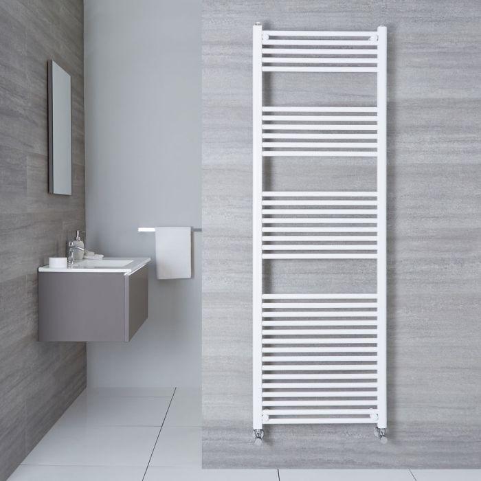 Handtuchheizkörper Weiß 1800mm x 600mm 1122W - Etna