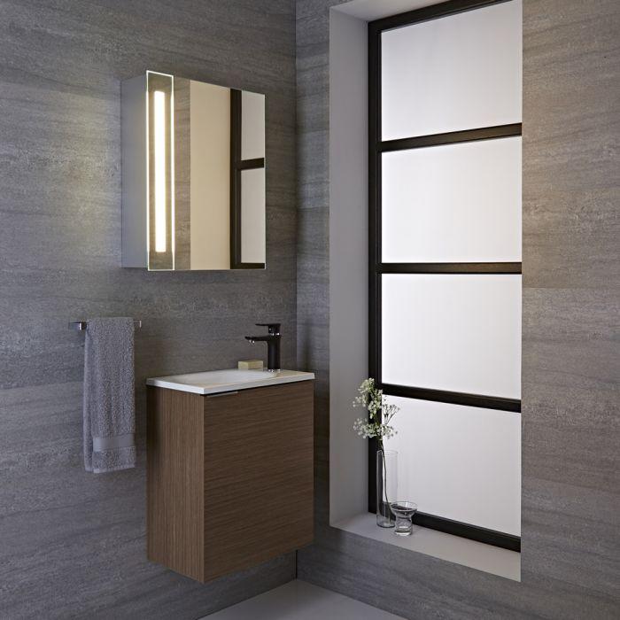 9w led integrierter spiegelschrank f r badezimmer bala. Black Bedroom Furniture Sets. Home Design Ideas
